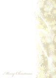 Oro de la Feliz Navidad Imagen de archivo libre de regalías