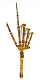 Oro de la mano robótico Fotografía de archivo