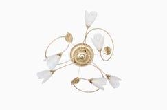 Oro de la obra clásica de la lámpara Imagen de archivo libre de regalías