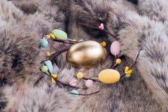 Oro de Pascua Foto de archivo