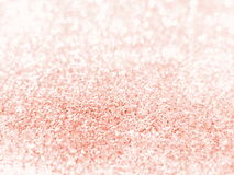 Oro de Rose - textura del fondo del brillo Foto de archivo