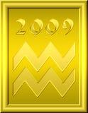 Oro del Aquarius Immagine Stock Libera da Diritti