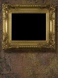 Oro del capítulo retro imagen de archivo libre de regalías