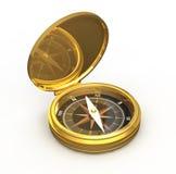 Oro del compás stock de ilustración
