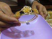 Oro del Dubai fotografia stock