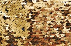 Oro del fondo del brillo Foto de archivo libre de regalías