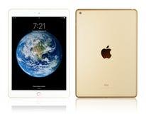 Oro del iPad de Apple foto de archivo libre de regalías