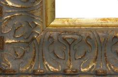 Oro del marco Imagen de archivo libre de regalías