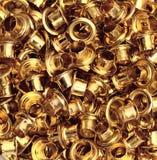 Oro del metallo Fotografia Stock