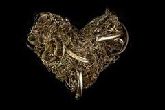 Oro del residuo Immagine Stock