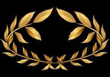 Oro della corona dell'alloro () Fotografie Stock