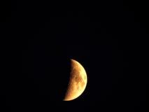 Oro della luna Fotografia Stock Libera da Diritti