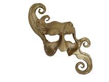 Oro della mascherina Fotografia Stock