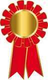 Oro della medaglia Fotografie Stock Libere da Diritti