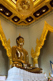 Oro di Buddha immagini stock