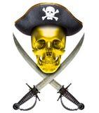 Oro di Jolly Roger Immagini Stock Libere da Diritti
