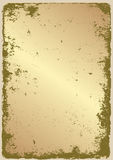 Oro di lerciume Fotografia Stock