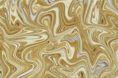 Oro di marmo e fondo senza cuciture di struttura bianca royalty illustrazione gratis
