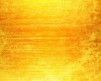 Oro di piastra metallica Fotografia Stock