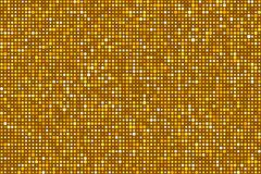 Oro Dots Pattern Seamless Background Vettore EPS8 illustrazione di stock