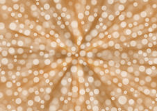 Oro Dots Zoom Background Illustration Fotos de archivo