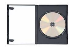 Oro DVD nel caso fotografia stock
