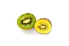 Oro e kiwi verde Immagine Stock Libera da Diritti