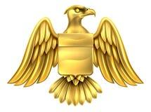 Oro Eagle Design Fotografia Stock