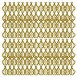 Oro esotico di lusso delle mandale -- Etnico bianco Fotografie Stock Libere da Diritti