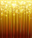 Oro, fondo festivo. ilustración del vector