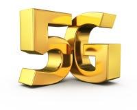 Oro 5G Immagine Stock
