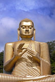 Oro gigante Bhudda Foto de archivo
