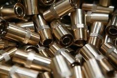 Oro industriale Fotografia Stock