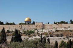 Oro Jerusalén foto de archivo