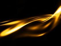 Oro liquido Immagini Stock