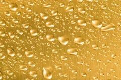 Oro liquido fotografie stock