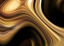 Oro liquido Fotografia Stock