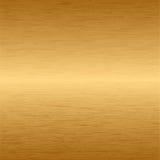 Oro metallico Fotografie Stock