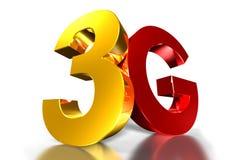 oro mobile 3g e rosso royalty illustrazione gratis