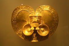 Oro Museum Museo del Oro, Bogotá, Colombia Fotografía de archivo
