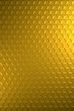 Oro o superficie de metal hexagonal brillante de cobre amarillo del alivio - fondo vertical stock de ilustración