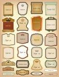 Oro ornamental de bastidores. Colección del vector ilustración del vector