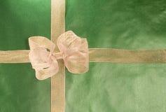 Oro presente en el Libro Verde Imagen de archivo libre de regalías