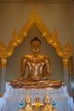 Oro puro Buda Fotos de archivo libres de regalías