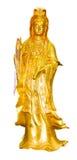 Oro Quan-Yin Fotografía de archivo libre de regalías