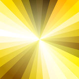 Oro Ray Abstract Background leggero Fotografia Stock