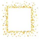 Oro rec de Conf Imágenes de archivo libres de regalías