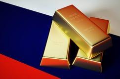 Oro russo Fotografie Stock Libere da Diritti