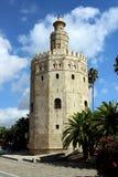 Oro Séville de Torre Photographie stock libre de droits