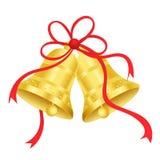 Oro/segnalatori acustici dorati royalty illustrazione gratis